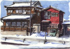 Niigata 11 - The Snow by olivier2046