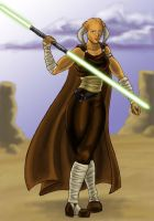 Iktotchi Jedi by issuesmissflight