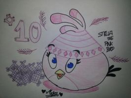 15 Days of Angry Birds New Year: Day 10 by MeganLovesAngryBirds