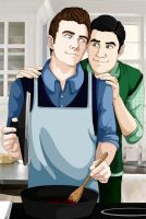 Domesticity by MidnightFlame