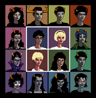 i like homestuck deal with it by Matter