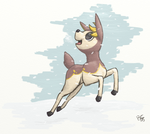 Winter Deerling by bootsa81