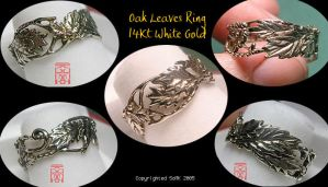 Oak Leaves Ring by somk