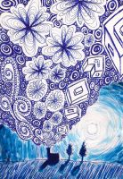 Twighlight in biro by Stu7art