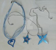 Blue tone charms by Hyline82