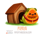 Daily Paint 1552. Pupaya by Cryptid-Creations