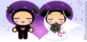 Pucca and Garu gets married by redred