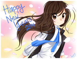 Happy 2014 by Jojuki