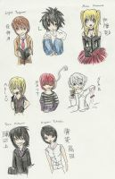 DN Chibis by tomgirl227