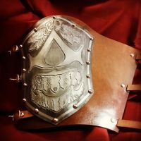 Assassin's Creed Ezio's vambrace archery arm guard by MerrillsLeather