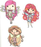 Winx Chibi's by Aii-Cute