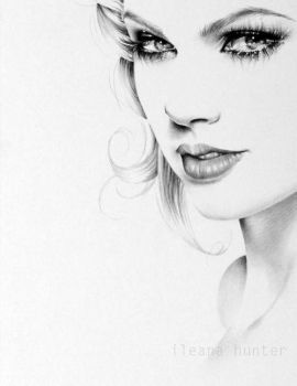 Taylor Swift Detail by IleanaHunter