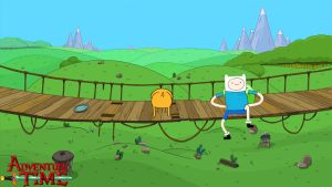 Adventure Time - jake turn around - Wallpaper by sebastiancooper