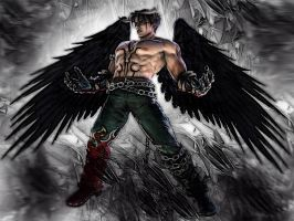 Devil Jin 1 by WASIM786