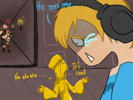 Pewdie Stephano and Bro by Canibal-powa