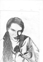 Lestat pen drawing by mFockink