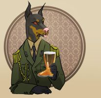 military dog 1/2 by ulsr