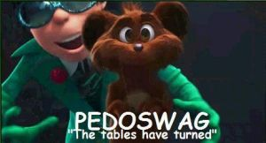 PEDOSWAG by blucille