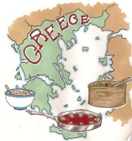 Ode to a Grecian Meal by PanPanMomo