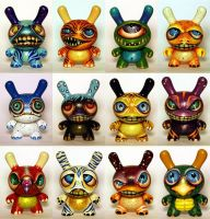 12 Monster Dunnys by bryancollins
