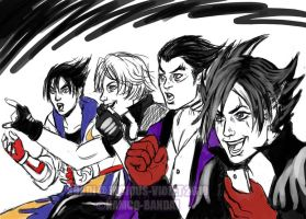 TEKKEN SKETCH: OLDMEME TIME by viciousSHADi