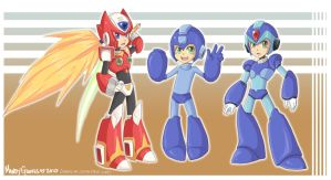 Reploids by Mandy-Mo