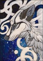 ACEO - White by awaicu