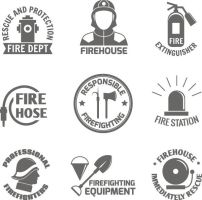 9 Fire Element Logo Vector by FreeIconsdownload
