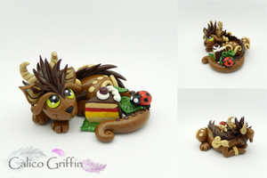 Chocolate Cayo Dragon by CalicoGriffin