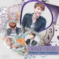 Exo - D.O Png Pack by NiklausAysegulSS