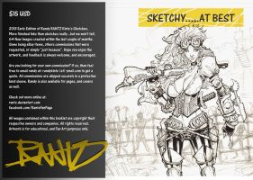 2013 SKETCHBOOK COVER ART by rantz
