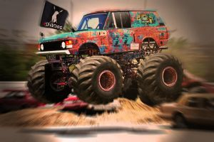 RANGE ROVER MONSTER TRUCK by ROOF01