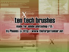 Tech Brushes by Red-Eclipse