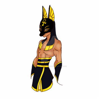 Night of Clouds Anubis Mask by RadicalArtEnthusiast