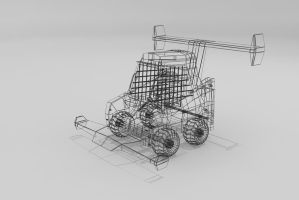 BobCat Racer Wire Frame by Xpunk75