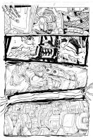 Grimlock page 04 inks by MarceloMatere