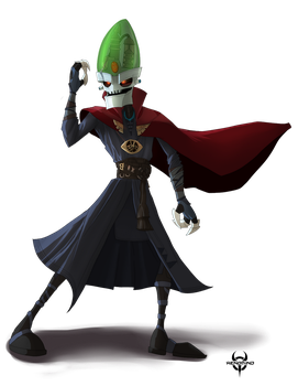 Comm-Dr Nefarious Strange by XenoMind