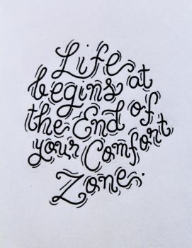 Step out of your comfort zone! by icaordinanza