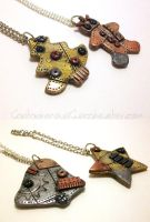 Industrial Ornaments II by CantankerousCupcake
