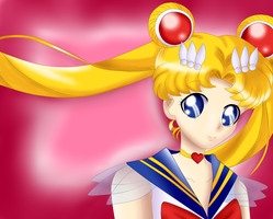 Super Sailor Moon by iTiffanyBlue
