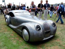 Morgan LIFEcar aero design by Partywave