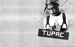 Tupac Shakur by lyricalflowz