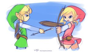 Training Weapons by drantyno