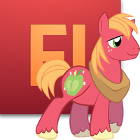 Big Macintosh Flash Icon For Mac by LuckyJackal