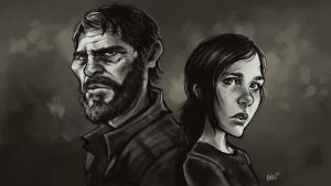 The Last of Us - Ellie and Joel, KNKL by KNKL