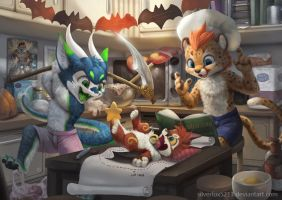 Commission for Scalarius by Silverfox5213