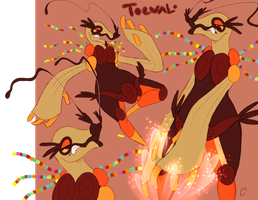 OC time- Toeval sketches by Spazzan