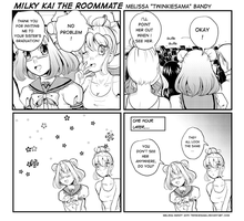 Milky Kai the Roommate Extra 1 by Twinkiesama
