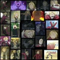 Many Faces of Edward Elric 4 by BrokenSilhouette77