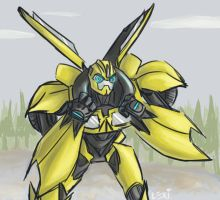 TFP: Bumblebee by Fulcrumisthebomb